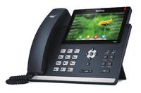 Yealink SIP-T48S Kabelgebundenes Mobilteil 16Zeilen LCD Schwarz IP-Telefon (Schwarz)