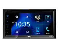 JVC KW-V330BT Bluetooth Schwarz Auto Media-Receiver (Schwarz)