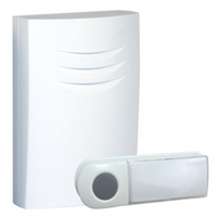 Byron B401E Wireless door bell kit Weiß Türklingel Kit (Weiß)