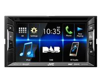 JVC KW-V235DBT Bluetooth Schwarz Auto Media-Receiver (Schwarz)
