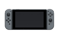 Nintendo Switch Joy‑Con 6.2Zoll 32GB WLAN Grau Tragbare Spielkonsole (Grau)