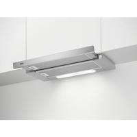 AEG DPB1620S Halbeingebaut (ausziehbar) 240m³/h E Silber (Silber)