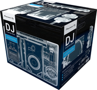 Pioneer DJ-STARTERPACK Schwarz DJ-Controller (Schwarz)