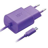 ISY IWC 3000 Innenraum Violett Ladegerät für Mobilgeräte (Violett)