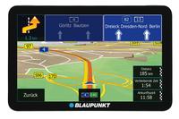 Blaupunkt TravelPilot 73 EU LMU Tragbar / Fixiert 7Zoll Touchscreen 276g Schwarz, Silber Navigationssystem (Schwarz, Silber)