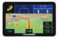 Blaupunkt TravelPilot 73 CE LMU Tragbar / Fixiert 7Zoll Touchscreen 276g Schwarz, Silber Navigationssystem (Schwarz, Silber)