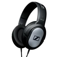 Sennheiser HD 206 Schwarz, Silber ohrumschließend Kopfband Kopfhörer (Schwarz, Silber)