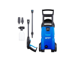 Nilfisk 128470930 Hochdruckreiniger Senkrecht Elektro 440 l/h 1400 W Blau, Schwarz (Blau, Schwarz)