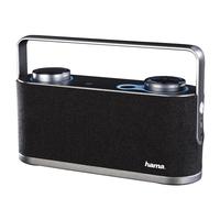 Hama Soundchest Stereo portable speaker 24W Schwarz, Grau (Schwarz, Grau)