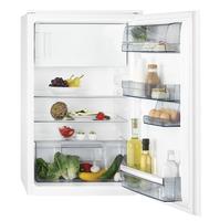 AEG SFB58821AS Eingebaut 123l A++ Weiß Kühlschrank mit Gefrierfach (Weiß)