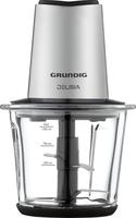 Grundig CH 8680 1l 800W Schwarz, Edelstahl Elektrischer Essenszerkleinerer (Schwarz, Edelstahl)