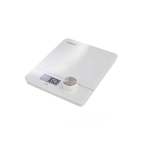 Korona Pia Tisch Rechteck Elektronische Küchenwaage Silber, Weiß (Silber, Weiß)