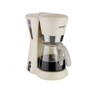 Korona 10205 Freistehend Halbautomatisch Filterkaffeemaschine 1.25l 10Tassen Grau Kaffeemaschine (Grau)