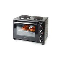 Korona 57400 30l 1500W Schwarz Grill Toaster (Schwarz)