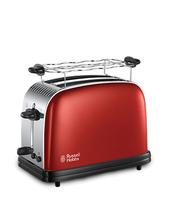 Russell Hobbs 23330-56 2slice(s) Schwarz, Rot, Edelstahl Toaster (Schwarz, Rot, Edelstahl)