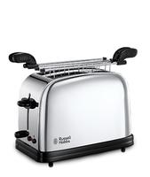 Russell Hobbs 23310-57 2slice(s) Schwarz, Silber Toaster (Schwarz, Silber)
