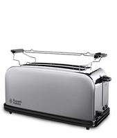 Russell Hobbs 23610-56 4slice(s) Schwarz, Edelstahl Toaster (Schwarz, Edelstahl)
