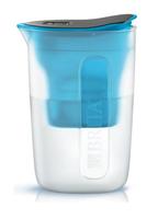 Brita Fun Pitcher-Wasserfilter 0.5l Schwarz, Blau (Schwarz, Blau, Transparent)