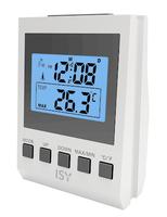 ISY IDC 1101 Silber Wecker (Silber)