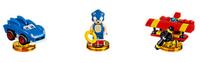 Warner Bros LEGO Dimensions Sonic Level Pack 3Stück(e) Mehrfarben Baufigur (Mehrfarben)