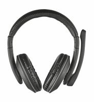 Trust 21662 Binaural Kopfband Schwarz Headset (Schwarz)