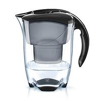 Brita Elemaris Pitcher-Wasserfilter 2.4l Schwarz (Schwarz, Transparent)