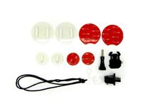 Easypix 55233 Surf-/ Snowboard Action sports camera mount Zubehör für Actionkameras (Schwarz, Rot, Weiß)