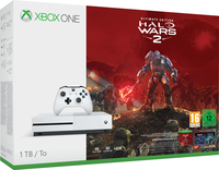 Microsoft Xbox One S + Halo Wars 2: Ultimate 1000GB WLAN Weiß (Weiß)