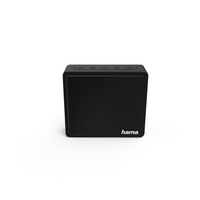 Hama Pocket Mono portable speaker 3W Schwarz (Schwarz)