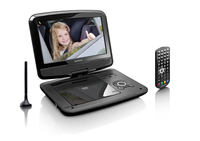 Lenco DVP-9413 Portable DVD player Cabrio 9Zoll Schwarz Tragbarer DVD-/Blu-Ray-Player (Schwarz)