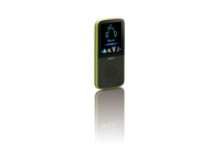 Lenco PODO-153 MP3 4GB Schwarz, Limette (Schwarz, Limette)