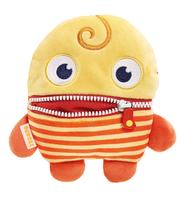 Schmidt Spiele Bobbel Monster Plüsch Gelb (Orange, Gelb)