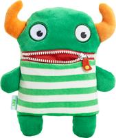 Schmidt Spiele Pat Monster Plüsch Grün, Weiß (Grün, Orange, Weiß)