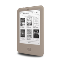 Tolino page 6Zoll Touchscreen 4GB WLAN Grau eBook-Reader (Grau)