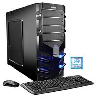 Hyrican Alpha Gaming 5480 3.6GHz i7-7700 Schwarz PC (Schwarz)