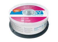 ISY IDV 1000 4.7GB DVD+R 25Stück(e) DVD-Rohling