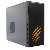 NBB NBB01048 4.2GHz i7-7700K Midi Tower Schwarz, Gelb PC PC (Schwarz, Gelb)