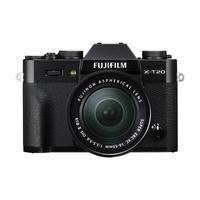 Fujifilm X T20 + XC16-50mm F3.5-5.6 OIS II Systemkamera 24.3MP CMOS III 6000 x 4000Pixel Schwarz (Schwarz)