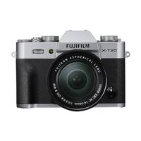 Fujifilm X T20 + XC16-50mm F3.5-5.6 OIS II Systemkamera 24.3MP CMOS III 6000 x 4000Pixel Schwarz, Silber (Schwarz, Silber)