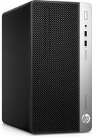 HP ProDesk 400 G4 Microtower-PC (ENERGY STAR) (Schwarz, Silber)