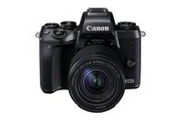 Canon EOS M5 + EF-M 18-150mm IS STM Systemkamera 24.2MP CMOS 6000 x 4000Pixel Schwarz (Schwarz)