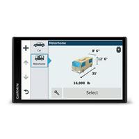 Garmin Camper 770 LMT-D Fixed 6.95Zoll TFT Touchscreen 243g Schwarz Navigationssystem (Schwarz)