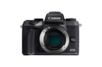 Canon EOS M5 MILC Body 24.2MP CMOS 6000 x 4000Pixel Schwarz (Schwarz)