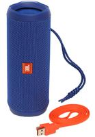 JBL Flip 4 Mono 16W Zylinder (Blau)