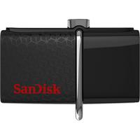 Sandisk Ultra Dual USB 256 GB 256GB USB 3.0 (3.1 Gen 1) Typ A Schwarz USB-Stick (Schwarz)