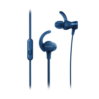 Sony MDR-XB510AS im Ohr Binaural Verkabelt Blau (Blau)