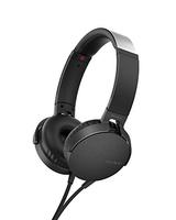Sony MDR-XB550AP Kopfband Binaural Verkabelt Schwarz (Schwarz)