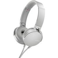 Sony MDR-XB550AP Kopfband Binaural Verkabelt Weiß (Weiß)