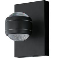 Eglo Sesimba Für die Nutzung in Außenbereich geeignet 3.7W Schwarz Wandbeleuchtung (Schwarz)