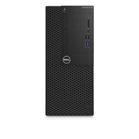 DELL OptiPlex 3050 3.4GHz i5-7500 Mini Tower Schwarz PC (Schwarz)